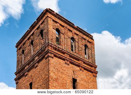 Abandoned Brick Tower