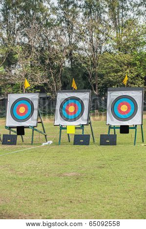 Three  Archery Target