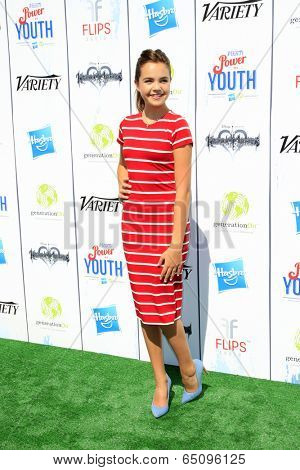LOS ANGELES - JUL 27:  Bailee Madison at the Variety's Power of Youth  at Universal Studios Backlot on July 27, 2013 in Los Angeles, CA