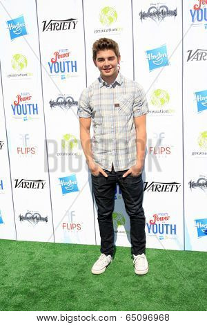 LOS ANGELES - JUL 27:  Jack Griffo at the Variety's Power of Youth  at Universal Studios Backlot on July 27, 2013 in Los Angeles, CA