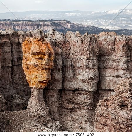 Colorful Hoodoo Face