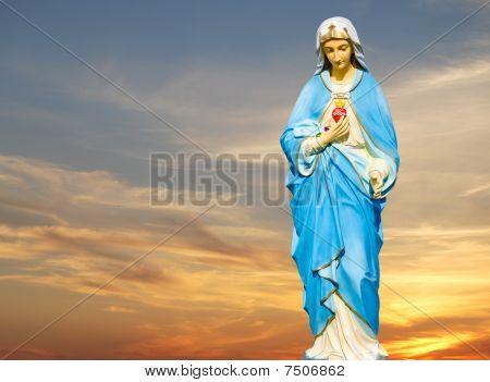Statue of the Virgin Mary