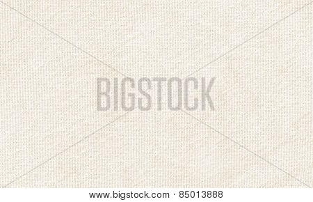 White Canvas Material To Use As Background Or Texture