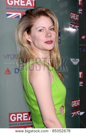 LOS ANGELES - FEB 20:  Hanna Alstrom at the GREAT British Film Reception Honoring The British Nominees Of The 87th Annual Academy Awards at a London Hotel on February 20, 2015 in West Hollywood, CA
