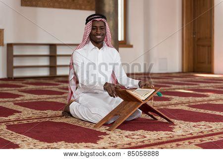 Portrait Of A Handsome Black Businessman Smiling