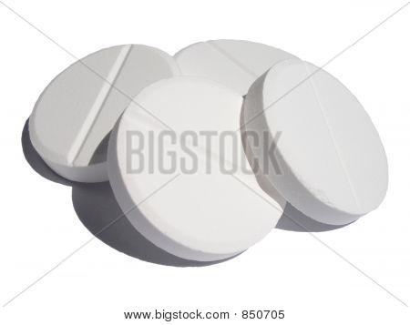 Simple White Pills