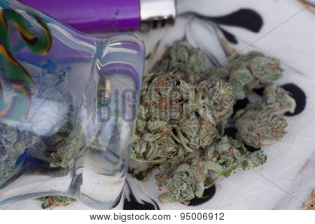 Silver Afghan Medicinal Marijuana