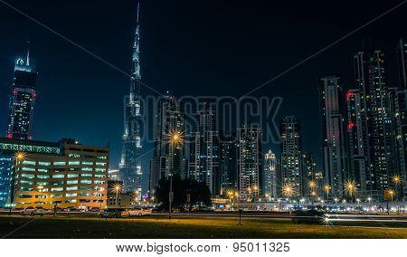 Burj Khalifa at Sheik Zayed Road