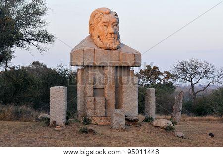 Paul Kruger Statue - Kruger National Park, South Africa