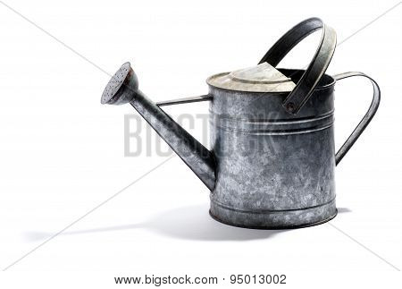 Galvanised Metal Watering Can