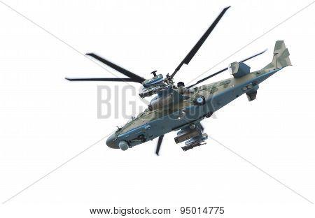 Russian Helicopter Ka-52 alligator.