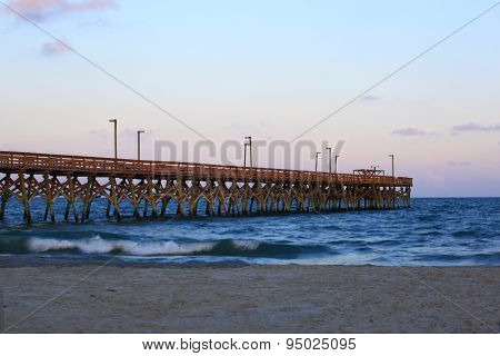 Pier in South Carolina