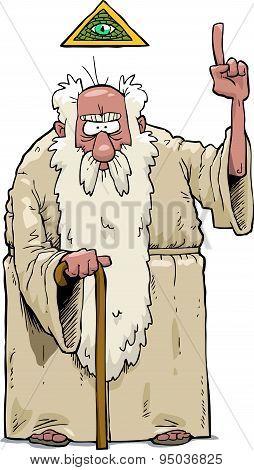 The Bearded God