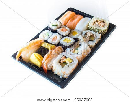 Sushi packs for supermarket