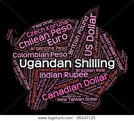 Ugandan Shilling Shows Forex Trading And Banknote
