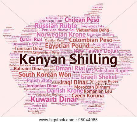 Kenyan Shilling Represents Exchange Rate And Coin