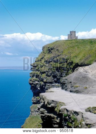 Tower on cliff