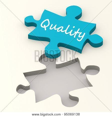 Quality Blue Puzzle