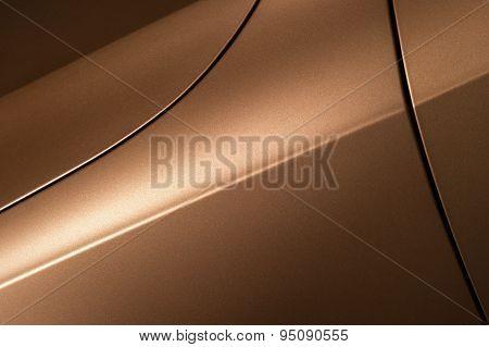 Bronze sedan bodywork