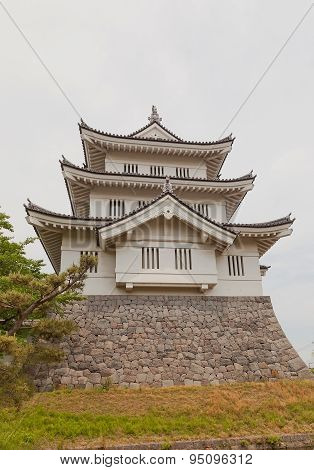 Main Keep Of Oshi Castle In Gyoda Town, Japan