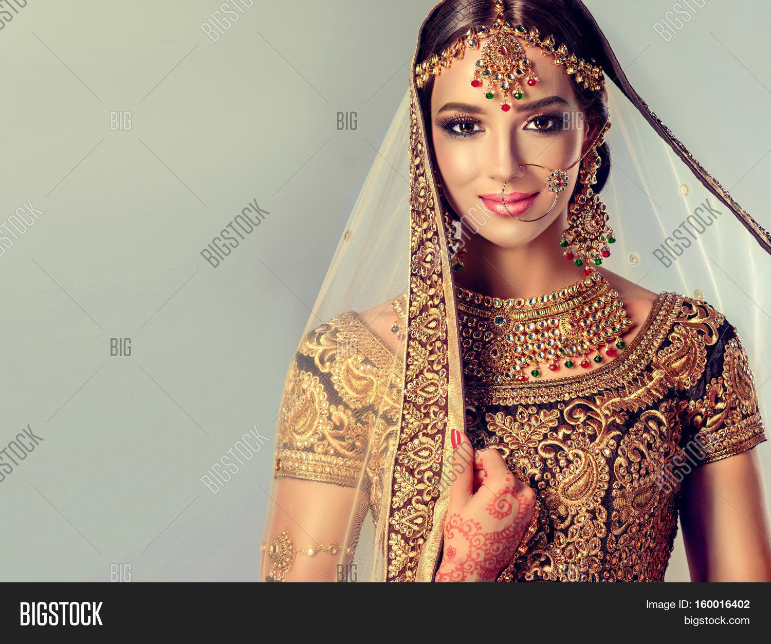 traditionally indian muslim girl images, illustrations, vectors