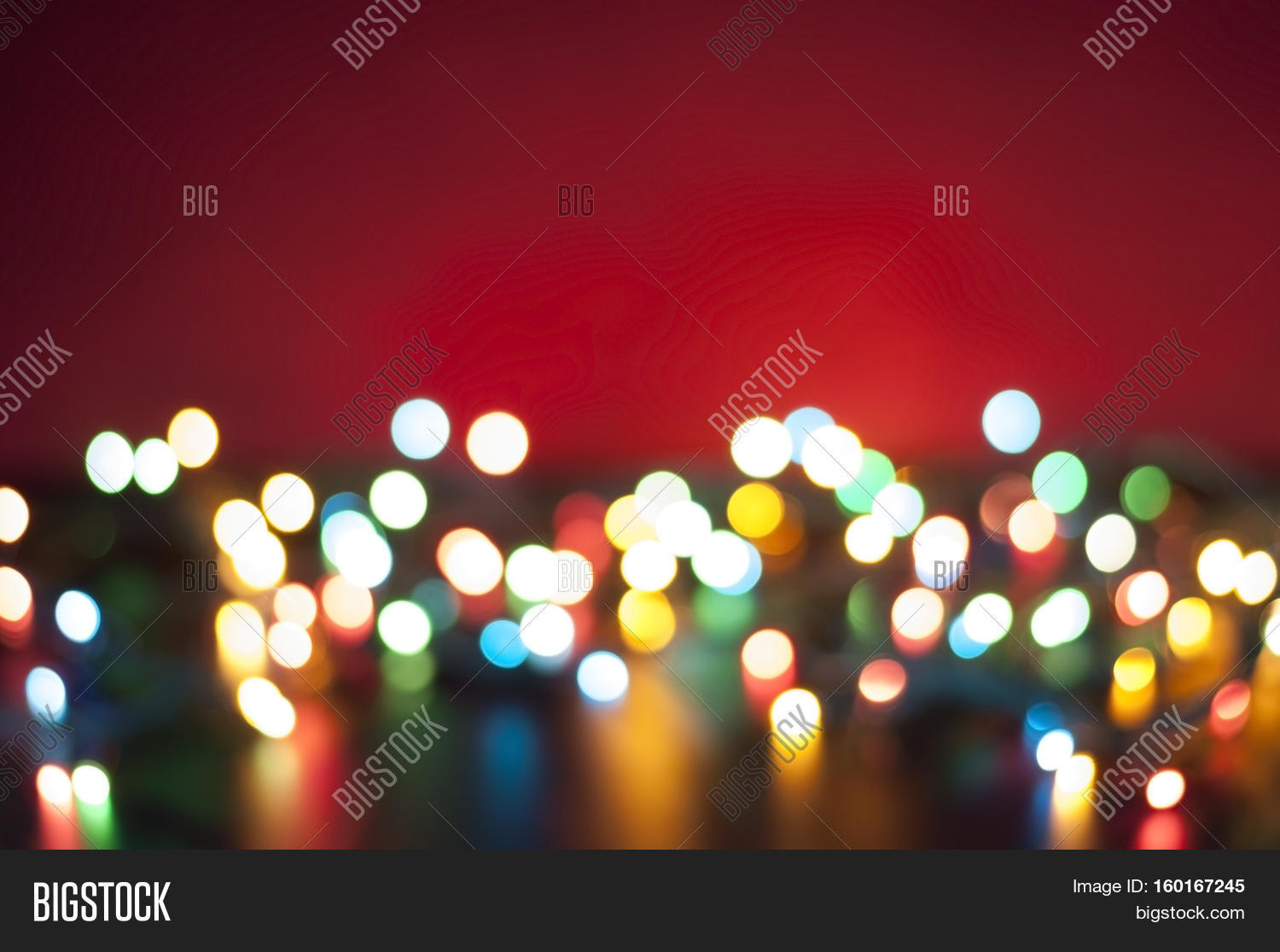 Abstract multicolored light. Blur spot light. Defocus colorful light.