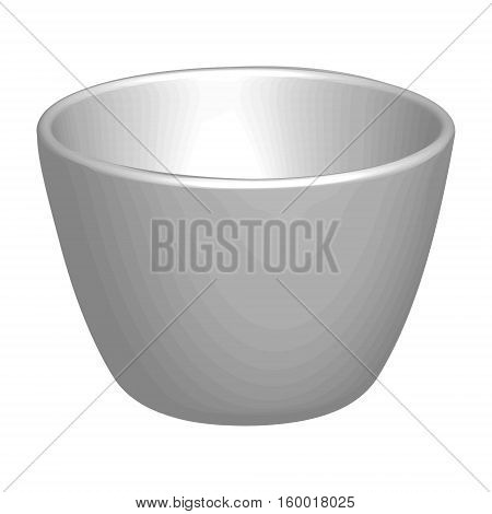 The 3D model of the Cup, volume Cup for coffee or tea, vector template