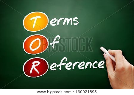 Hand Drawn Tor - Terms Of Reference