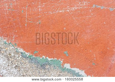 orenge white concrete wall texture the background old