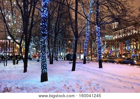 Moscow Winter Decoration, Russia