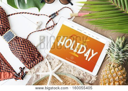 Holiday Chill Out RElaxation Getaway from It All Concept
