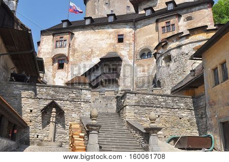 . The Orava Castle is the one of the most beautiful castle in Slovakia