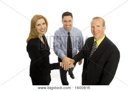 Business People Gesture Teamwork