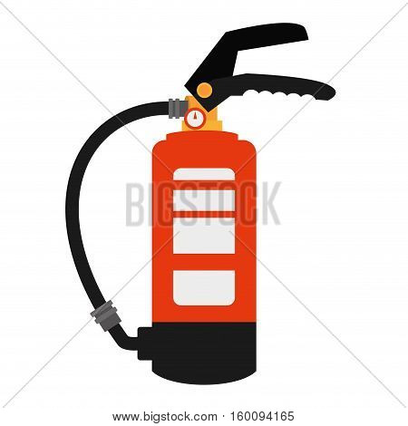 fire extinguisher safety security industrial vector illustration eps 10