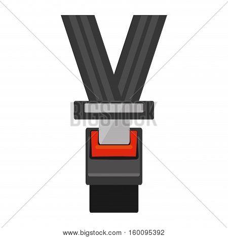 seat belt drive safe sign vector illustration eps 10