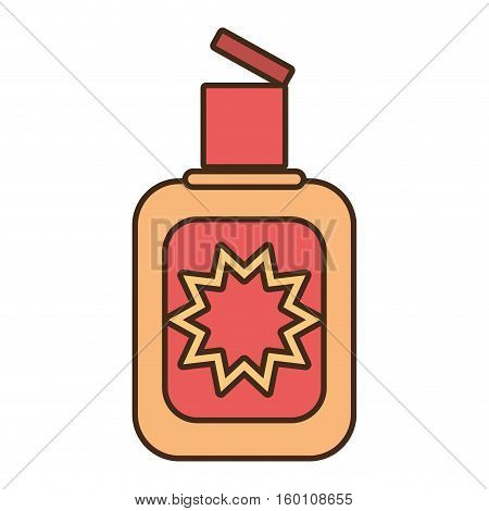 cream sun blocker beach icon vector illustration eps 10