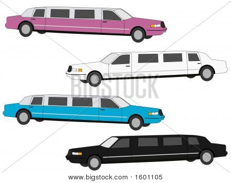 Colourful Stretch Limos
