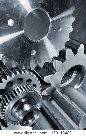 titanium and steel engineering parts for the rocket aerospace industry