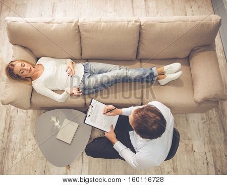 Woman At The Psychologist