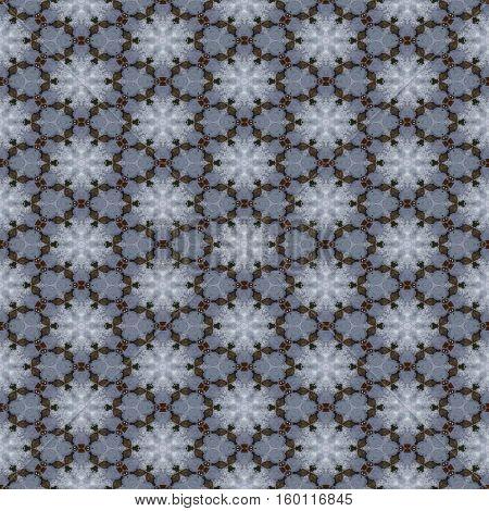 Beautiful floral seamless bridal boho tablecloth pattern design