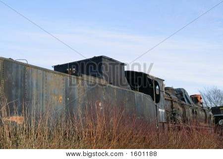 Derelict Railway Engine
