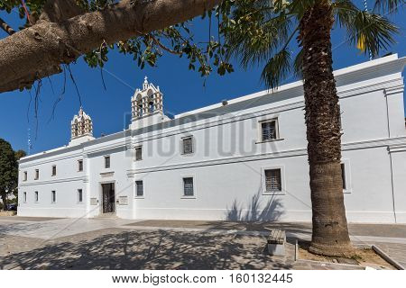 Church of Panagia Ekatontapiliani in Parikia, Paros island, Cyclades, Greece