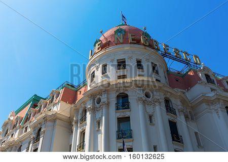 Hotel Le Negresco In Nizza, France