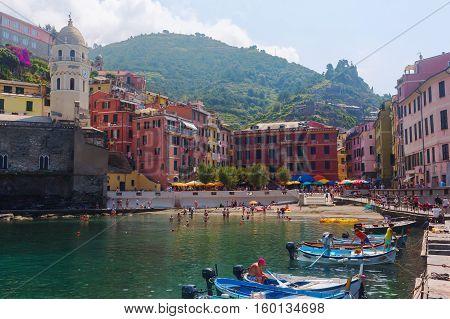 Harbor Of Vernazza, Cinque Terre, Italy