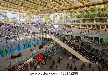 Forum Les Halles In Paris, France
