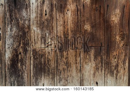 vintage background wall texture from old wood grunge brown color