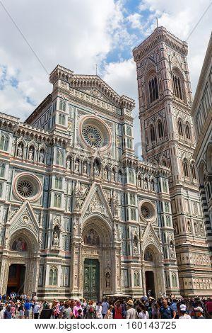 Cathedrale Di Santa Maria Del Fiore In Florence, Italy