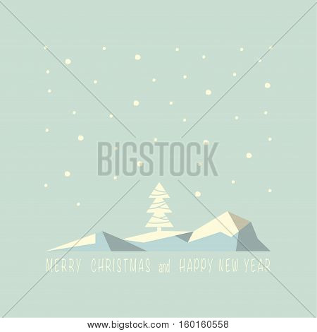 The cover design . Depicts an iceberg with christmas tree in the day and snowflakes. Under the iceberg phrase merry Christmas and a happy New year.