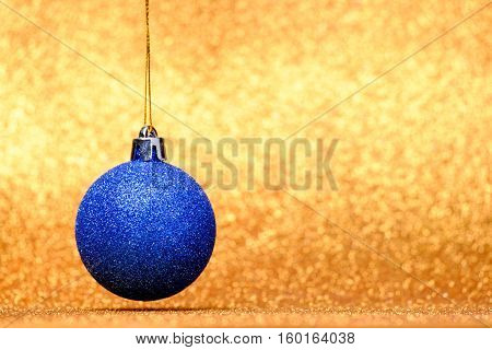 Christmas Festive Decorations On Colorful Background