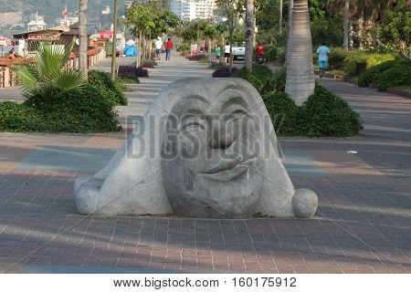 Alanya, Turkey, Europa / / Fragments of the city